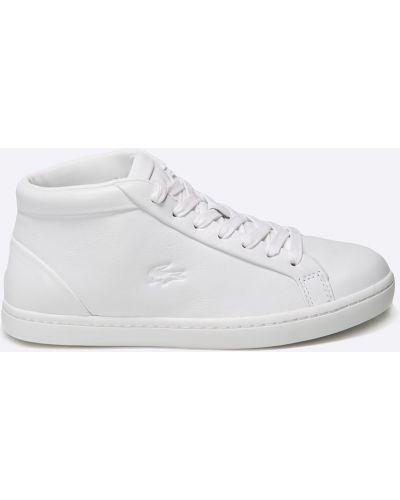 Кроссовки текстильные белый Lacoste