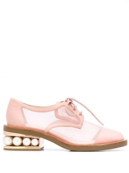 Дерби для обуви круглый Nicholas Kirkwood