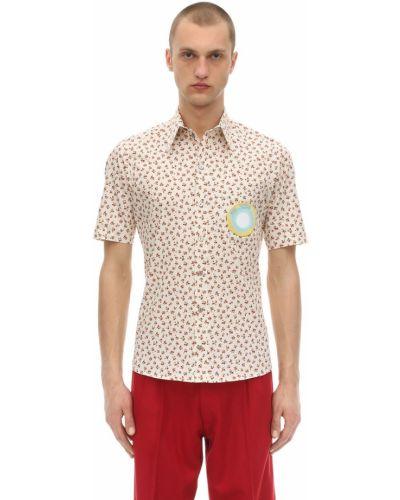 Klasyczna koszula krótki rękaw bawełniana z haftem Passarella Death Squad