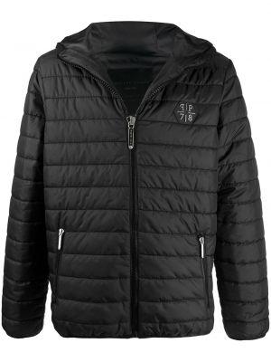 Стеганая куртка - черная Philipp Plein