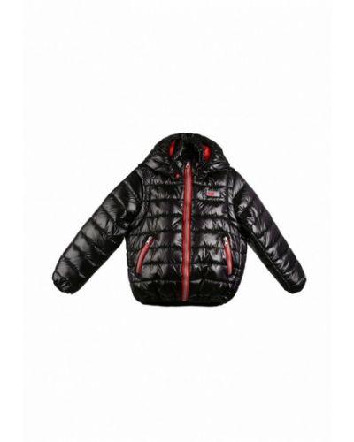 Черная куртка теплая Kat