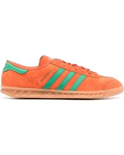 Tenisówki - pomarańczowe Adidas