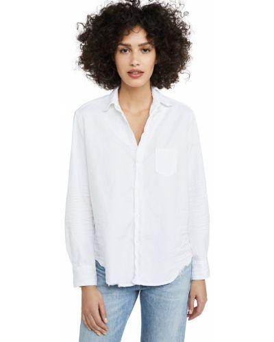 Джинсовая рубашка - белая Frank & Eileen