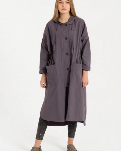 Плащ серый Lab Fashion