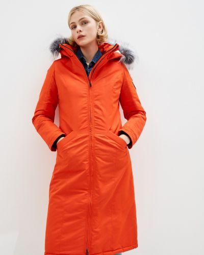 Куртка мембранная - оранжевая Dasti