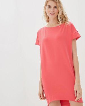 Платье розовое футболка Vilatte