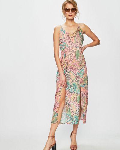Платье миди прямое на молнии Glamorous