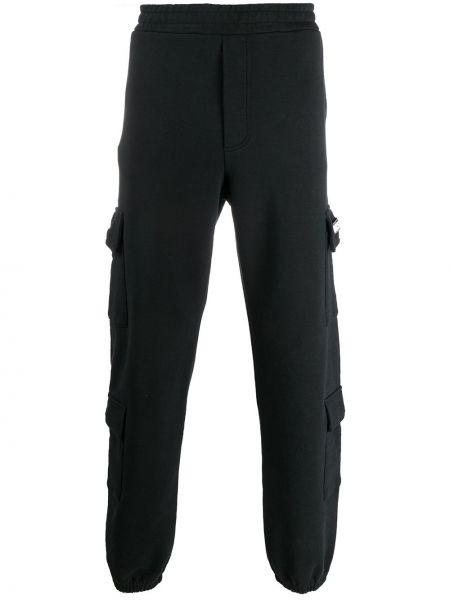 Czarne spodnie bawełniane Buscemi