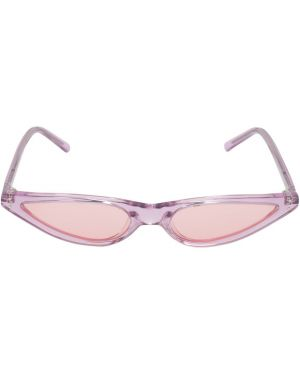 Муслиновые розовые солнцезащитные очки George Keburia