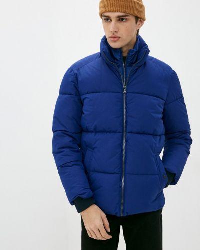 Утепленная синяя куртка Marks & Spencer