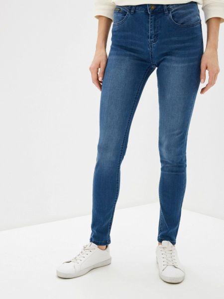 Клубные синие джинсы-скинни с пайетками Concept Club