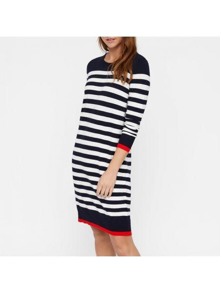 Платье миди макси в полоску Vero Moda