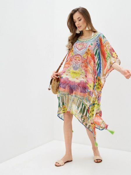 Пляжное платье весеннее индийский Indiano Natural
