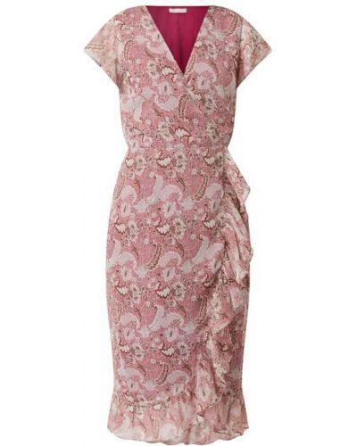 Sukienka rozkloszowana z falbanami z dekoltem w serek Freebird