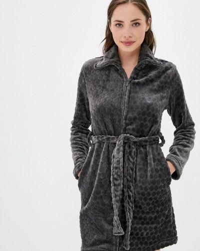 Домашний халат - серый Deseo