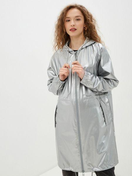 Серебряная куртка Rains