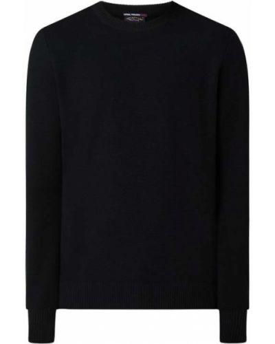 Czarny sweter wełniany Paul & Shark