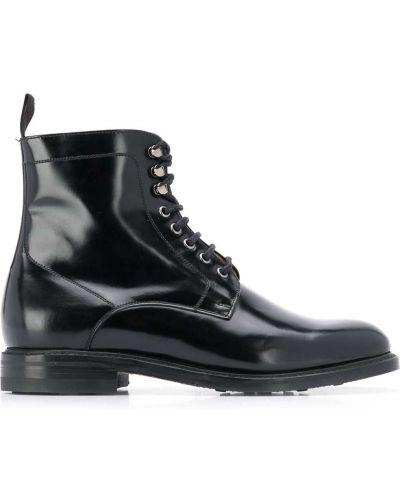Туфли на шнуровке черные классические Berwick Shoes