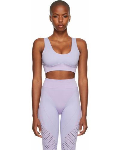 Фиолетовый спортивный бюстгальтер Adidas X Ivy Park