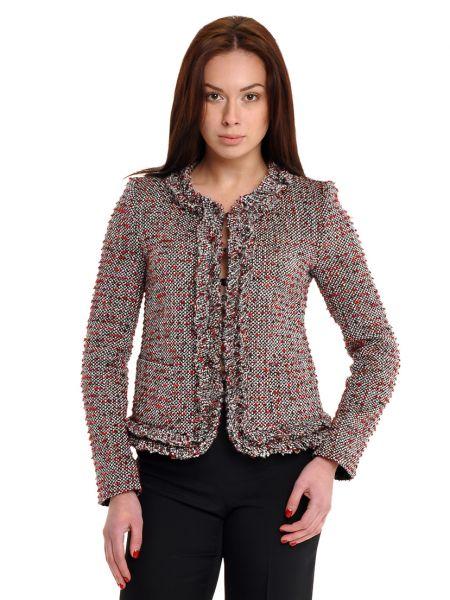 Пиджак из полиэстера - серый Armani Collezioni