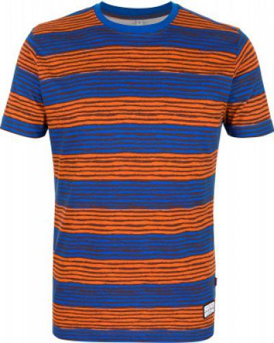 Спортивная футболка приталенная красный Exxtasy