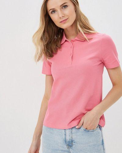 Поло розовый Marks & Spencer