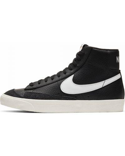 Повседневный кожаный черный пиджак Nike