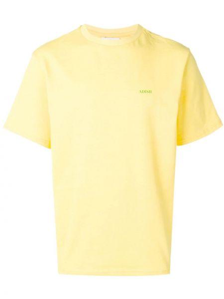 Желтая футболка Adish
