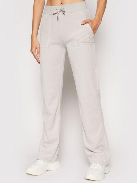 Szare spodnie dresowe Juicy Couture