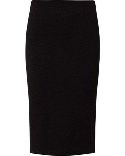 Czarna spódnica z wiskozy Guess