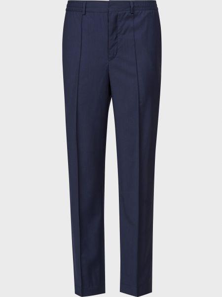 Хлопковые брюки - синие Corneliani