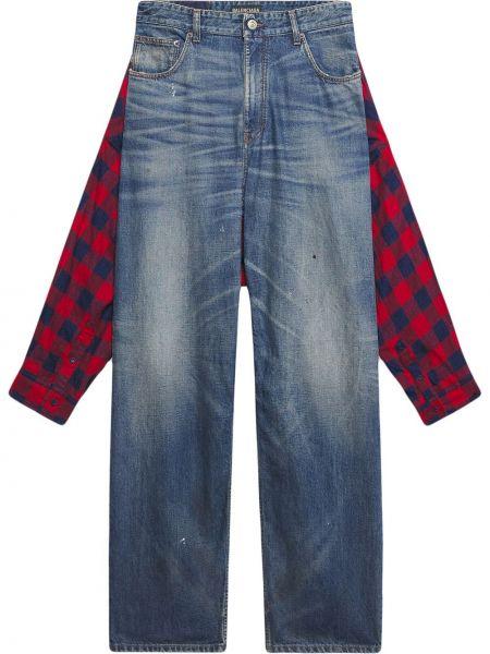Koszula jeansowa - niebieska Balenciaga