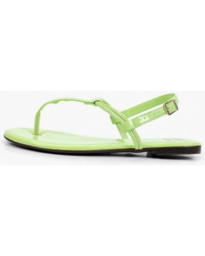 Зеленые сандалии Moleca