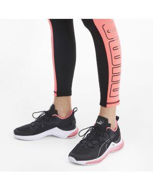 Кроссовки с логотипом черные Puma