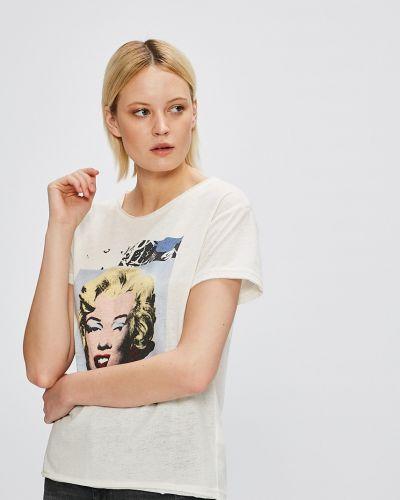 Футбольная футболка со стразами Andy Warhol By Pepe Jeans