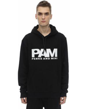 Czarna bluza z kapturem bawełniana P.a.m. Perks And Mini