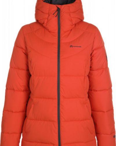 Теплая оранжевая свободная утепленная куртка на молнии Outventure