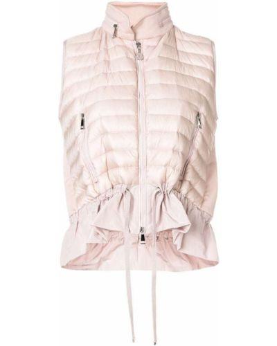 Дутая куртка из полиэстера пуховая на молнии Moncler
