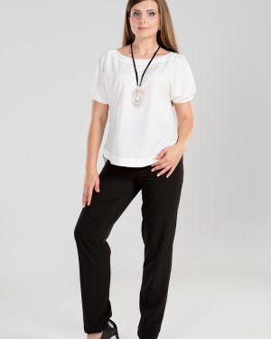 Зауженные классические брюки - черные прима линия