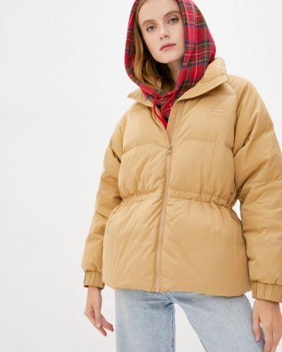 Бежевая зимняя куртка Levi's®