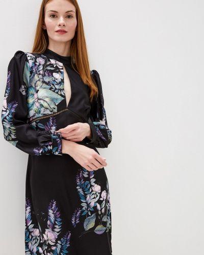 Вечернее платье осеннее черное Little Mistress
