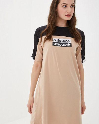 Платье осеннее платье-сарафан Adidas Originals