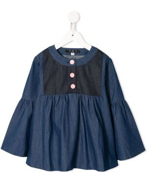 Расклешенная блуза Owa Yurika
