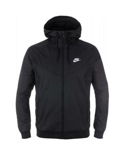 Куртка с капюшоном спортивная из полиэстера на молнии Nike