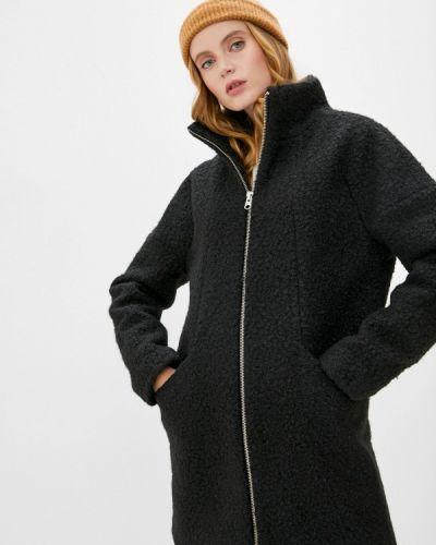 Черное пальто Q/s Designed By
