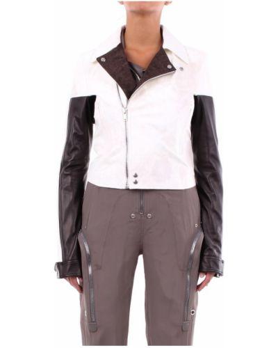Biała kurtka Rick Owens