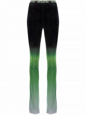 Czarne spodnie z siateczką Ottolinger