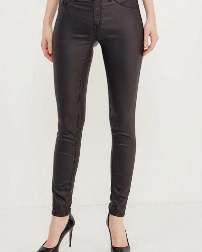 Черные зауженные брюки Imperial