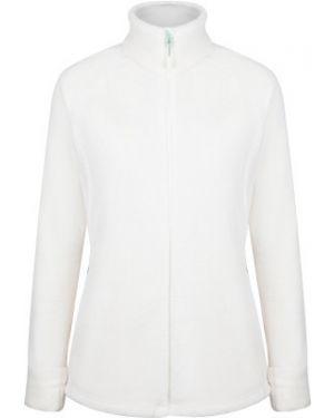 Спортивный белый приталенный джемпер с капюшоном Merrell
