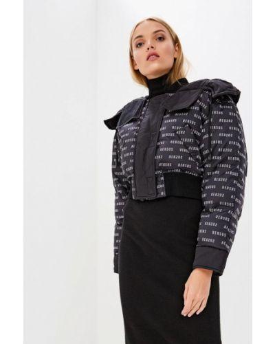 Зимняя куртка осенняя черная Versus Versace